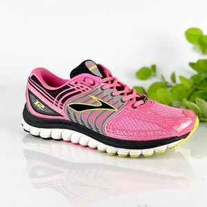 Brooks Glycerin 12 Womens Running Shoes Pink/Black